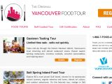 Vancouverfoodtour.com Coupons