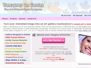 Shop at vancouveroncanvas.com