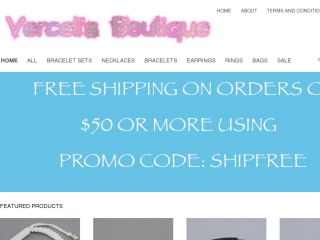 Shop at vercelisboutique.bigcartel.com