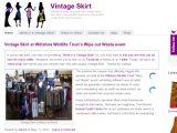 Browse Vintage Skirt