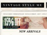 Vintagestyle.me Coupon Codes