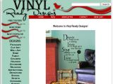 Browse Vinyl Ready Designs