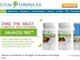Browse Vital Formulas