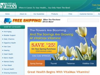Shop at vitalmaxvitamins.com