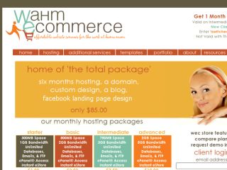 Shop at wahmecommerce.com