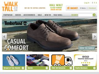 Shop at walktall.co.uk