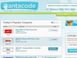 Wantacode.ca Coupon Codes
