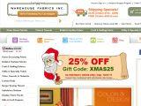 Browse Warehouse Fabrics Inc