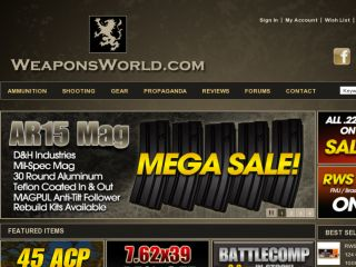 Shop at weaponsworld.com