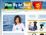 Browse Wear My Art Tees