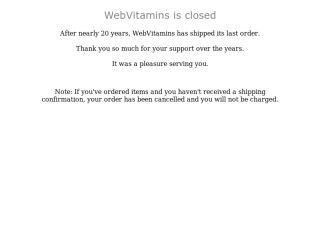 Shop at webvitamins.com