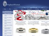 Browse Wedding Bands Wholesale
