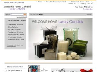 Shop at welcomehome-candles.com