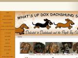 Browse What's Up Dox Dachshund Shoppe