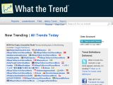 Browse What The Trend?