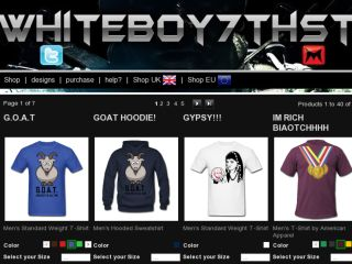Shop at whiteboy7thst.spreadshirt.com