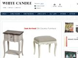 Browse White Candle