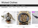 Browse Wicked Clothes