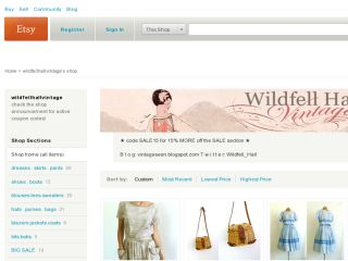 Shop at wildfellhallvintage.etsy.com