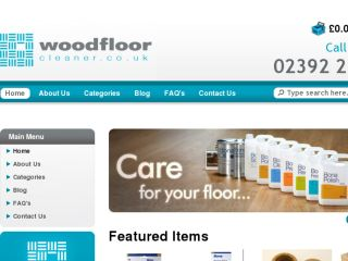 Shop at woodfloorcleaner.co.uk