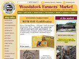 Browse Woodstock Farmers' Market