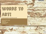 Wordstoart.com Coupon Codes