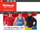 Browse Worldwide Sport Supply