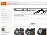 Wyomingrusticjewelry.etsy.com Coupons