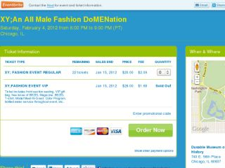 Shop at xyfashionevent.eventbrite.com