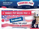 Yankeepop.co.uk Coupons