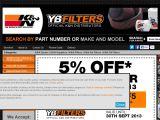 Ybfilters.com Coupons