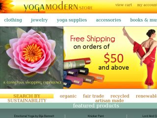 Shop at yogamodernstore.com