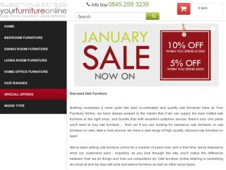 Shop at yourfurnitureonline.co.uk
