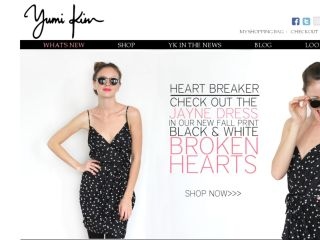 Shop at yumikim.com