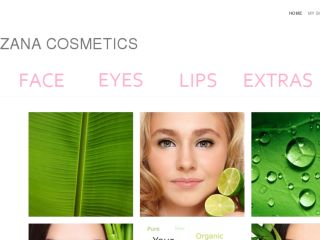 Shop at zanacosmetics.com