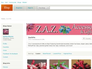 Shop at zazgifts.etsy.com