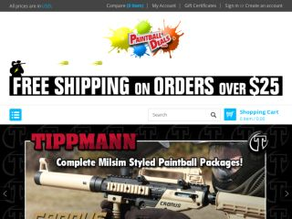 Shop at zephyrpaintball.com