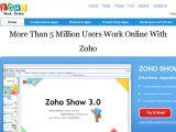 Browse Zoho