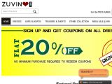 Zuvino.com Coupons