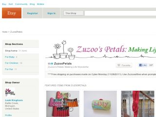Shop at zuzoopetals.etsy.com